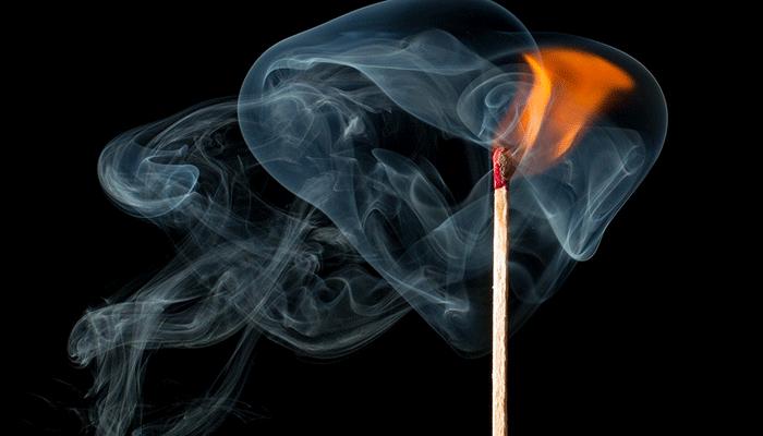Видеть дым во сне - толкование