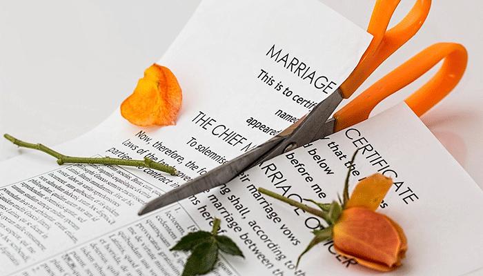 Развод или расставание в сновидениях